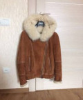 Дубленка, женская зимняя куртка металлик, Махалино