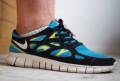 Кроссовки Nike Free Run 2 размер 7.5 us, бутсы найк темпо цена, Москва