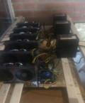 Ферма для майнинга на 27 карт Asus RX 570 800mHs, Лопатино
