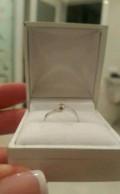 Кольцо из белого золота с бриллиантом, Сергиевск
