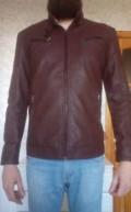 Куртка демисезон, кожзам, песцовая жилетка распродажа, Армянск