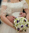 Свадебное платье короткое для росписи, свадебное платье, Тимирязевское
