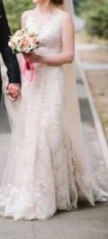 Продам шикарное свадебное платье, женская одежда большие размеры от производителя россия дешево цены опт, Селихино