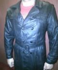Кожанный плащ продаю, куртка мужская длинная зимняя купить, Нижний Новгород