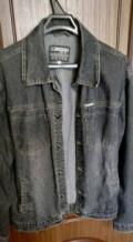Шёлковая майка мужская, куртка джинсовая, Волгореченск