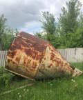 Бункер конический для сыпучих материалов 10 м3, Засосна