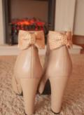 Ботинки, кроссовки из натуральной кожи белые купить, Снежногорск