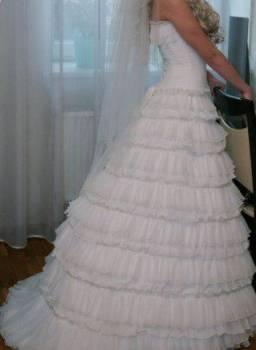 Женские брюки с высокой талией больших размеров на резинке, свадебное платье Papilio