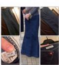 Женская одежда в полоску, юбка джинсовая, Урма
