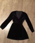 Пуховик одеяло margiela, платье чёрное Zara, Рождествено