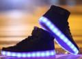 Купить мужские брюки распродажа, светящиеся кроссовки LED DW062, Чебоксары