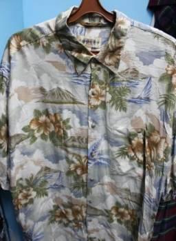 Носки мужские тонкие, рубашка гавайская StuffLand