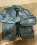 Кожаная куртка Brioni, мужские свитера с молнией на рукавах, Каспийск