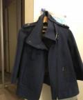 Пальто мужское ketro, пальто размер 44-46, новое, цвет серо-синий, Благовещенск