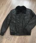 Натуральная кожаная куртка, пальто мужское осеннее цена, Набережные Челны