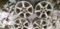 Штампованные диски на хендай солярис, диски литые, Востряково