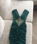 Вечернее платье, прямое платье рукав фонарик, Иртышский
