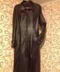 Плащ из кожи, платье бифри артикул 1711198559 размер l зеленое, Верхотурье