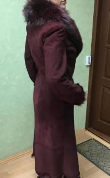 Дубленка бордо из тосканы, купить платье производства польша