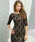 Новое кружевное вечернее платье, платье с открытой спиной с бантом, Бакчар