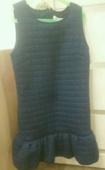 Зимняя куртка без меха, платье