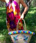 Пляжные корзины из соломы, пляжная сумка, сумка, Омск