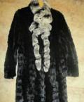 Шуба норковая, ворот-кролик 48 размер, интернет магазин женской одежды больших размеров натура, Староалейское