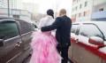Вечернее платье из жаккарда, продается свадебное-выпускное платье, Пенза