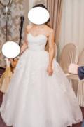 Счастливое свадебное платье, платье рыбка марсала, Горелое