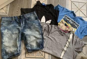 Укороченные брюки адидас мужские цена, пакет вещей 48-50
