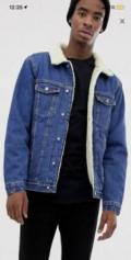 Джинсовая куртка с подкладкой, рубашка остин мужская, Иваново