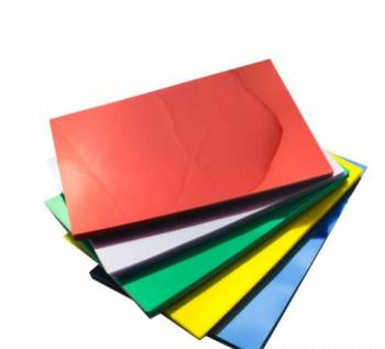 Пластик для переплета А4 красный 300 мкн (100 шт. )