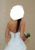 Платье со шлейфом синие, свадебное платье, Москва