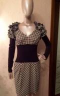 Платье фирменное Pianura Studiо, красивые офисные платья на полных женщин, Сухой Лог