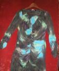 Платье франц. фирмы Sinequanone, пуховик этро голубой, Белгород