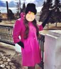 Платье из замши zara, пальто цвет фуксия (44-46), Мичуринск