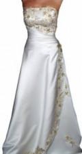 Платья ниже колена в полоску, продается свадебное платье, Казань