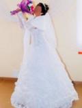 Платье поло женская, платье свадебное, Осинки