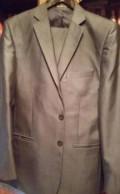 Новый костюм, длинный мужской пуховик пальто, Монгохто