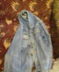 Купить мужские пуховики оптом дешево, куртка джинсовая(размер 46-48), Апатиты