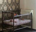 Кроватка детская с матрасом, Павлоградка