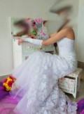 Свадебное платье, платье двойка из сетки, Владивосток