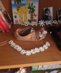 Тиара колье серьги свадебный набор, Тоншаево