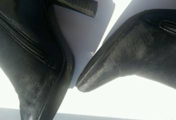 Сапоги кожаные Winzor, обувь женская немецкая интернет магазин