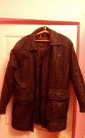 Куртка кожаная зимняя, брюки мужские salomon wayfarer winter, Грэсовский