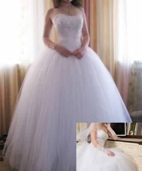 Платье в стиле жаклин кеннеди, свадебное платье с очень красивым корсетом