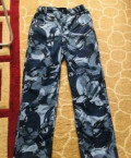 Синий камуфляжный костюм. Новый, мужские футболки турецкие, Новая Игирма