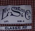 Мировые бренды мужской одежды, рубашка Levis размер S StuffLand, Белгород