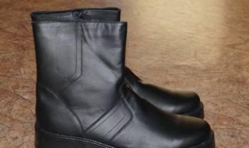 Новые мужские зимние кожаные сапоги, бутсы найк хайпервеном профи
