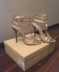 Купить обувь кожа оптом, золотые кожаные босоножки, Ханты-Мансийск